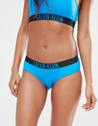 Бикини трусики-хипстеры Calvin Klein Intense Power - Синий Baie Вlue