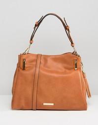 Oversize сумка-хобо Dune - Рыжий