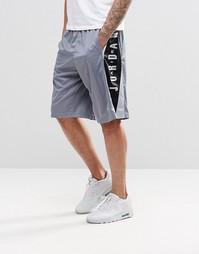 Спортивные шорты с надписью Jordan Nike Takeover 724831-066 - Черный
