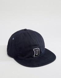 Бейсболка с логотипом Diesel - Темно-синий