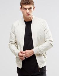 Белая куртка-пилот Pretty Green - Stone
