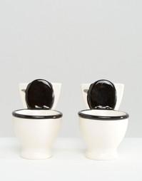 Набор из 2 коротких туалетных стаканов - Мульти Gifts