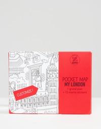 Карманная карта Лондона OMY - Мульти Books
