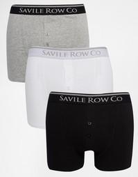 Набор из 3 боксеров‑брифов Savile Row - Мульти