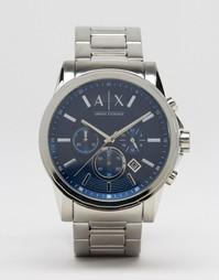 Часы с хронографом из нержавеющей стали Armani Exchange AX2509