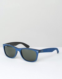 Солнцезащитные очки-вайфареры Ray-Ban 0RB2132 - Синий