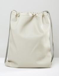 Светло-серая сумка для инструментов в кожаном стиле Mi-Pac Tumbled