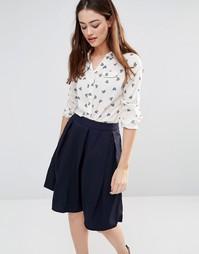 Рубашка с принтом сердечек Sugarhill Boutique Lexi - Кремовый