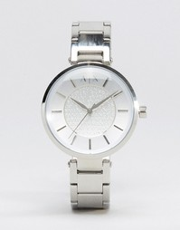 Серебристые часы Armani Exchange AX5315 - Серебряный