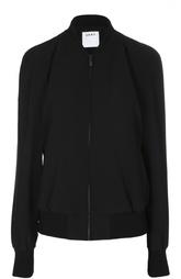 Куртка-бомбер с вырезами на рукавах DKNY
