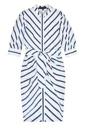 Платье с люрексом Viva Vox