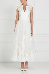 Платье с вышивкой Tony Ward