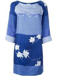 платье с комбинированным принтом Pierre-Louis Mascia