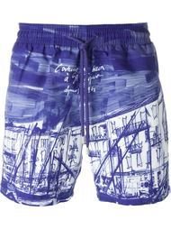 плавательные шорты с графическим принтом Vilebrequin
