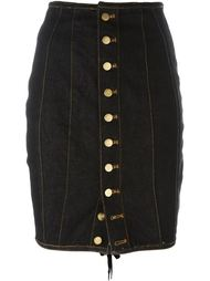 юбка-карандаш на пуговицах Jean Paul Gaultier Vintage