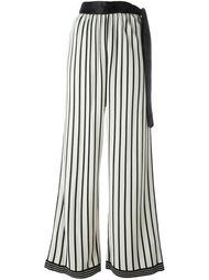 широкие брюки в полоску Jean Paul Gaultier Vintage