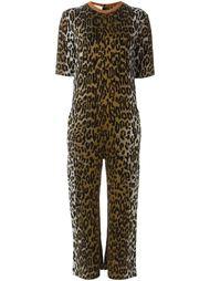 комбинезон с леопардовым принтом Stella McCartney