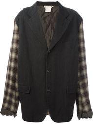 пиджак с контрастными рукавами Comme Des Garçons Vintage