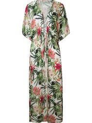 floral print beach dress Amir Slama
