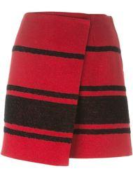 striped wrap skirt Sonia By Sonia Rykiel