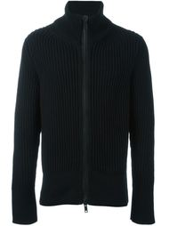 ribbed zipped cardigan Ann Demeulemeester