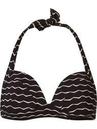 striped bikini top Amir Slama