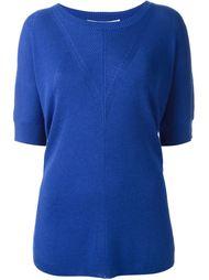 ribbed knitted top Diane Von Furstenberg