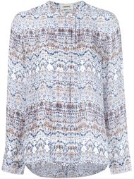 printed blouse L'agence