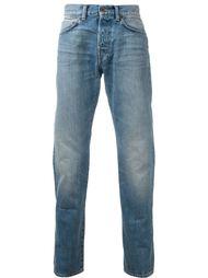 выбеленные джинсы  Edwin