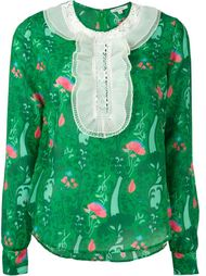 блузка с цветочным принтом Manoush
