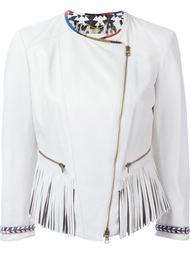 байкерская куртка с бахромой Bazar Deluxe