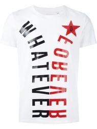 футболка с принтом 'whatever' Diesel