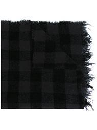 шарф в клетку Rick Owens