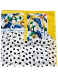 шарф с принтом Majolica Dolce & Gabbana