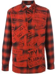 all-over print shirt Doublet