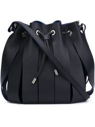 panelled shoulder bag Neil Barrett