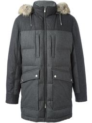 padded hooded coat Brunello Cucinelli