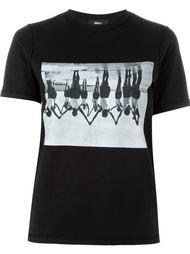 футболка с фото-принтом Yang Li