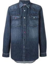 джинсовая рубашка в ковбойском стиле Givenchy