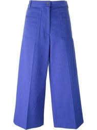 cropped flared trousers Maison Margiela