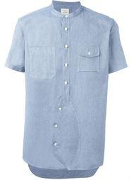 рубашка с короткими рукавами Wooster + Lardini