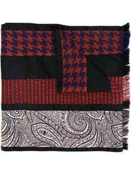 шарф с полосатым узором Etro