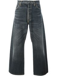 широкие джинсы Yohji Yamamoto Vintage