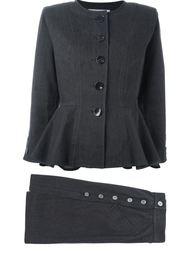 джинсовый костюм с юбкой Yves Saint Laurent Vintage