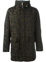 пальто с камуфляжным принтом  Eleventy