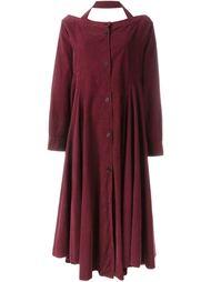 свободное платье с открытыми плечами Romeo Gigli Vintage