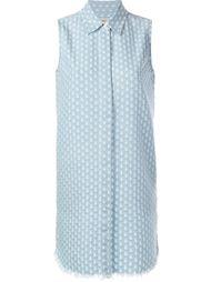 джинсовое платье без рукавов  Current/Elliott