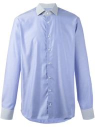 printed collar shirt Etro