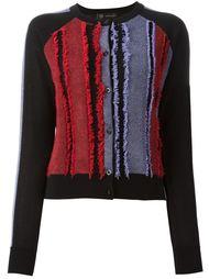 frayed panel cardigan  Versace