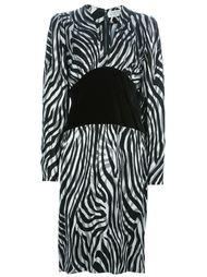 платье с контрастным поясом Givenchy Vintage